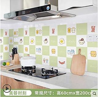 Autocollant mural étanche pour armoire de cuisine carrelée étanche à l'huile pour cuisinière 7