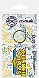 Pyramid International DC Comics Wonder Woman Logo Porte-clés en Caoutchouc, Multicolore,...