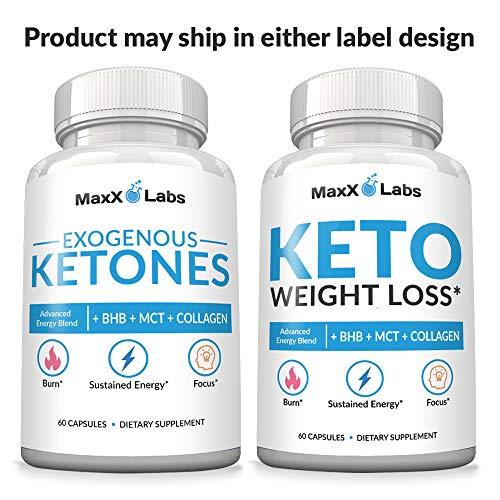 Keto Diet Pills - New - Exogenous Ketones Supplement Advanced Weight Loss for Women & Men with Best Ketogenic Fat Burner Beta Hydroxybutyrate BHB Salts to Keto Burn Fat - Easy to Swallow Capsules 9
