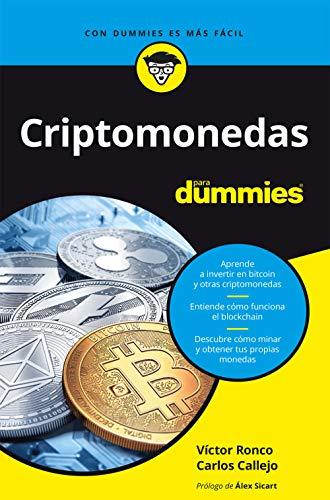 Criptomonedas para dummies (Sin colección)