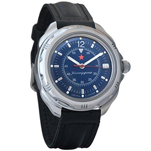 Vostok Komandirskie 2414 Hand-Winding Mechanical Russian Military Mechanical Watch // 211398