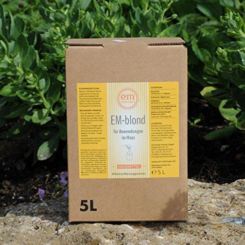 eM Chiemgau- EM Blond für Haus- und Tierpflege- 5 l Bag in Box mit Beschreibung-- Juni-Angebot