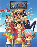 One Piece Coloring Book: The Best coloring with High Quality Illustrations For Kids And Adults .Enjoy Coloring One Piece As You Want! ( 8 x 10 ) 70 pages