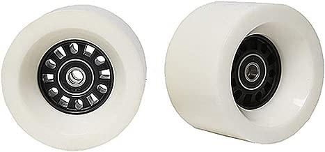 FREEDARE Longboard Wheels 70mm 83a with Bearings and Spacers Skateboard Wheels(Pack of 4)