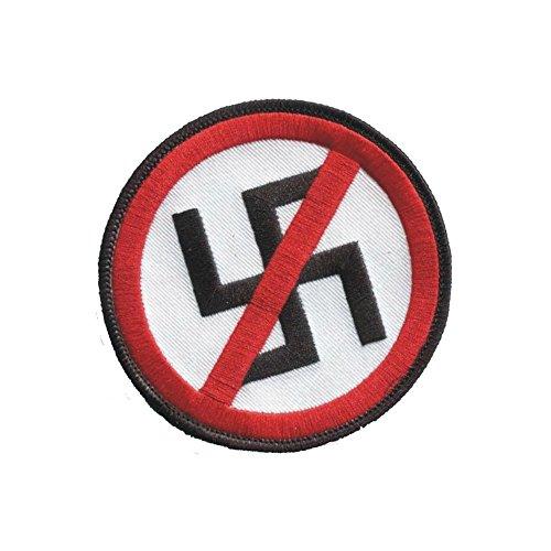 Anti Nazi Iron On Patch