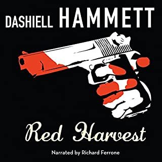 Red Harvest audiobook cover art