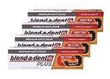 4 confezioni da 40 g di crema adesiva premium – neutro – duokraft