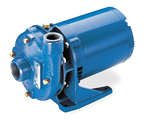 GOULDS Pumps 2BF10512 Cast Iron Centrifugal Pump, 1 Phase, 1/2 hp, 115/230 VAC