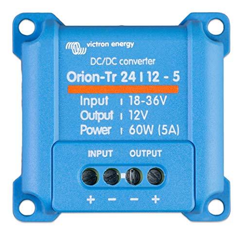 Victron Energy ORI241205200R Orion-TR 24/12-5 60W DC Convertidor, De 24 a 12 V-5A