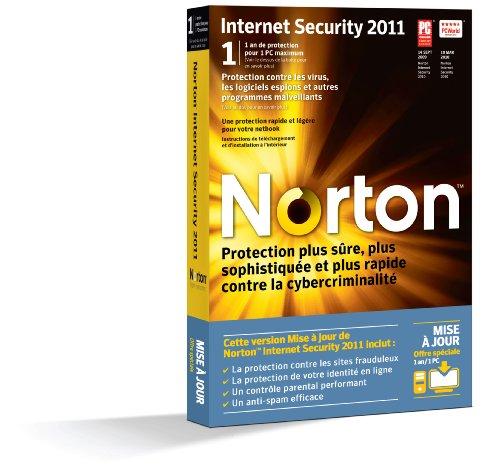 Norton Internet Security 2011 (1 poste, 1 an) - Mise à jour