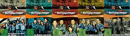 Die Rettungsflieger - Staffel 1+2+3+4+5 (1-5) / DVD Set / Starterset