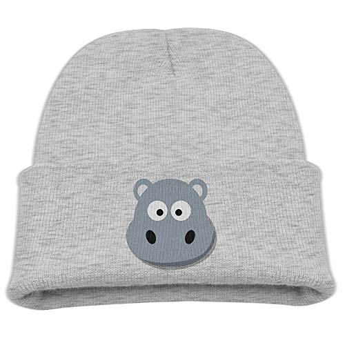 DHNKW Cartoon Hippo Infant Toddler Baby Soft Cute Lovely Newborn Kids Hat Beanies Caps for Baby Boys Girls