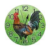 Reloj Pared Redondo Decorativo silencioso,Cuarzo Calidad Req