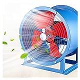XYSQ Extractor De Ventilación Industrial - Ventilador Portátil Ventilador De Metal Axial De Aire - Extractores para Sitios De Cultivo De Cría/Invernaderos De Flores/Sitios Industriales (Size : A)