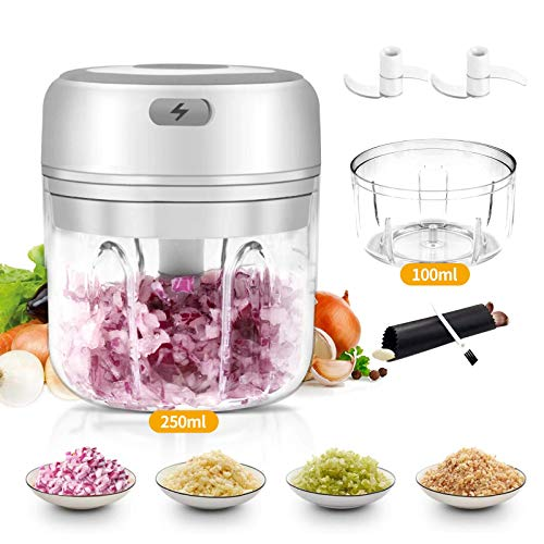 Mini Garlic Chopper, Electric Mincer, Food Dicers, Food Slicer...