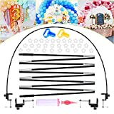Table Balloon Arch Kit, 12ft DIY Balloon Arch Garland Kit With Pump, Balloon Clips, Knotter, Desk Clips, Party Backdrop for Birthday, Wedding,Baby Shower, Christmas Indoor Party Supplies Decoration