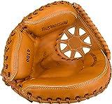Schreuders Sport Unisex's 23HI Junior Left-Handed Catcher Baseball Glove, Light Brown, One Size
