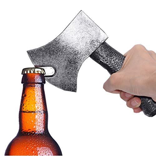 Abrebotellas con hacha magnética, abrebotellas, abridor de botellas, abrebotellas de cerveza, refrigerador magnético de hacha