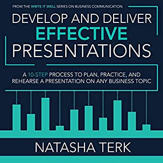 Develop and Deliver Effective Presentations audiobook cover art