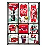 Nostalgic-Art - Coca-Cola Diner - Imán-Set(9 Teilig)