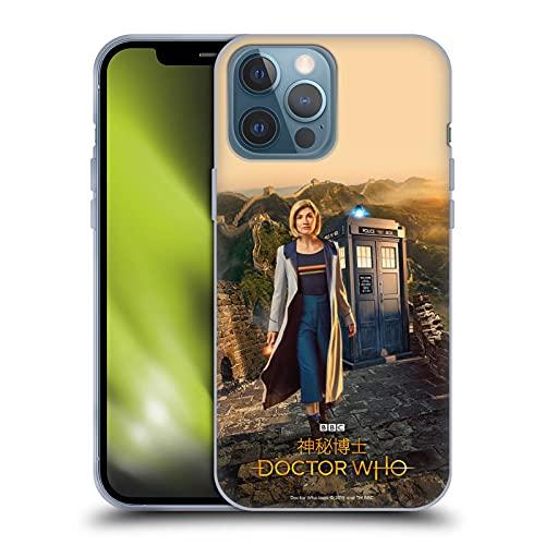 Head Case Designs Licenciado Oficialmente Doctor Who Póster Temporada 11 Asia Iconic Carcasa de Gel de Silicona Compatible con Apple iPhone 13 Pro MAX