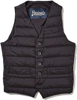 HERNO ヘルノ [秋冬] ダウンコート デタッチャブル フード&ファー ナイロン コヨーテファー ブラック