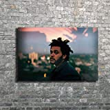 MZCYL Leinwand Malerei Wandkunst Bild The Weeknd Music