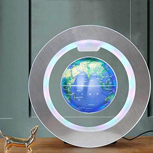 CAIJINJIN Explore The World Floating Globe Sphere Map Luminous Globe Constellation Global World Globe with Night Light Home Bedroom Decorations Children's Gift, Model 6inch
