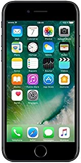 """Apple iPhone 7 - Smartphone DE 4,7"""" con Tecnología IPS (Chip A10 Fusión, Cámara Dual 12 MP, IP67) Color Negro Brillante (R..."""