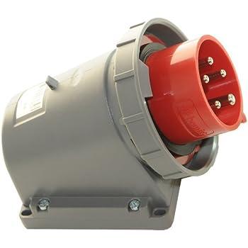 SIROX/® CEE-Motorschutzstecker IP 67 Stromst/ärke 16 A Einstellbereich 2,5-4,0 A