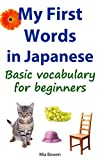 My First Words in Japanese: A basic vocabulary for beginners (Learn Japanese Book 1)