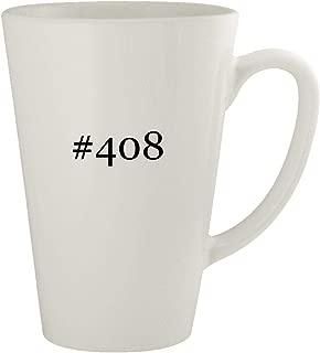#408 - Ceramic 17oz Latte Coffee Mug