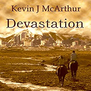 Devastation audiobook cover art