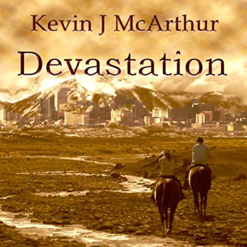 Devastation audiobook cover art