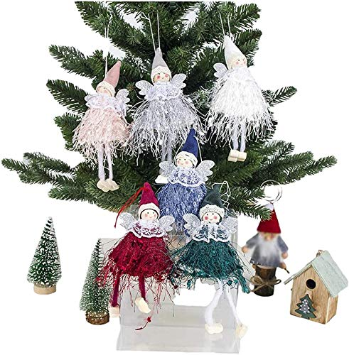 50% off 6 pcs Christmas Doll Decorations Use Promo Code: 50VDK5NX There is a quantity limit of 1
