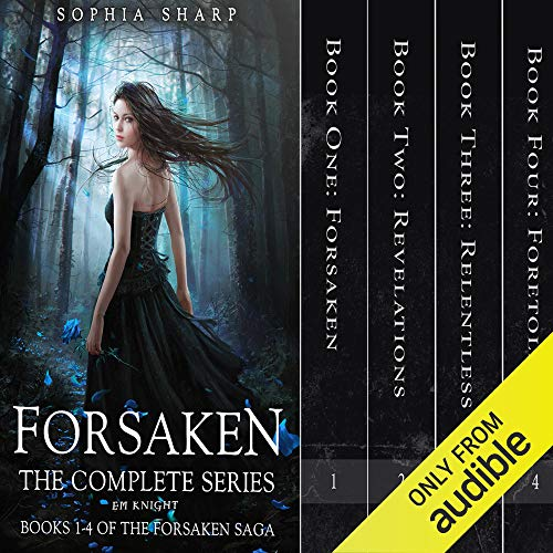 The Forsaken Saga Complete Box Set (Books 1-4)  By  cover art