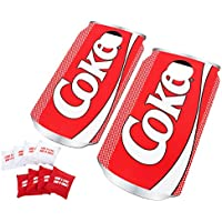 Hey! Play! Coca-Cola 10-Piece Pop Art Cornhole Set