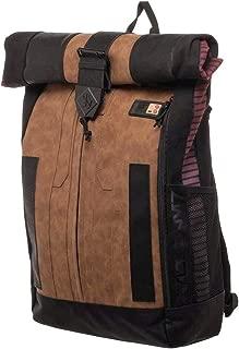 Star Wars Han Solo Inspired Roll Top Laptop Backpack Shoulder Bag