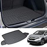 Powerty Trunk Mat All Weather TPO Rear Cargo Liner for Honda CRV CR-V 2017 2018 2019 2020 2021 Upgrade Material (Not Fit with Subwoofer,2018 CRV Touring, or 2020 2021 CRV Hybrid)