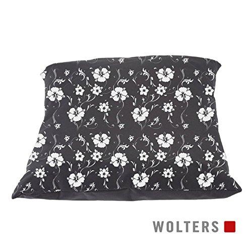 Wolters Grey Essentials Kuschelkissen grau 40 x 40 cm Sofakissen Hundekissen Hunde Liegekissen