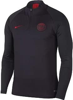 Men's Paris Saint-Germain PSG 1/4 Zip Pullover - Grey