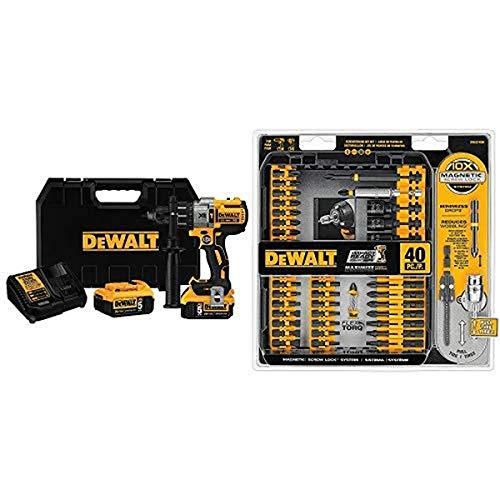 Our Top Choice: DEWALT DCD996P2 Drill Kit