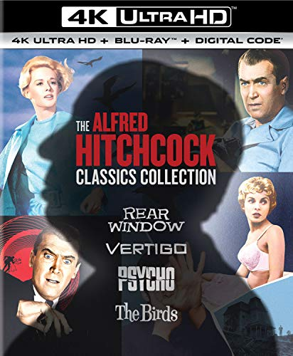 The Alfred Hitchcock Classics Collection [Blu-ray]