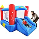 YARD Outdoor Indoor Bounce House Slide w/Heavy Duty Blower