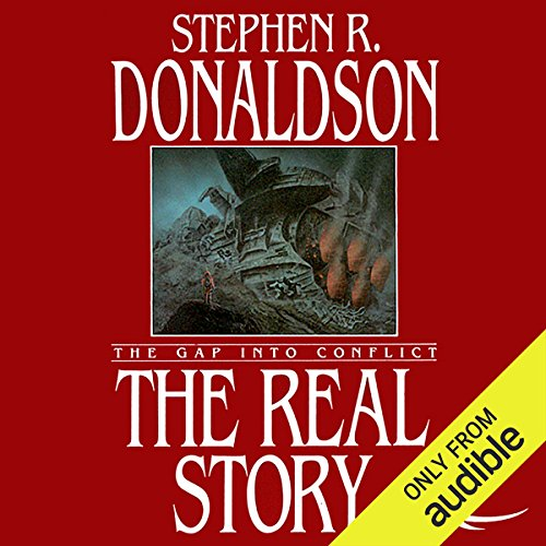 The Real Story: The Gap into Conflict  audiobook cover art