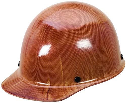 MSA 475405 Skullgard Cap Hard Hat, with 4-point Fas-Trac III Suspension, Large, Natural Tan