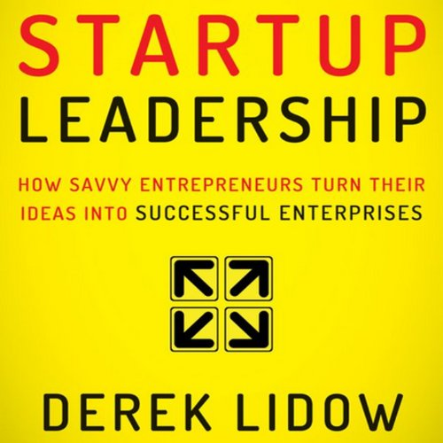 Startup Leadership audiobook cover art