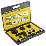 IBOSAD Manual Knockout Hole Punch Driver Kit 1/2 to 2 inch Electrical Conduit Hole Cutter ...