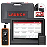 LAUNCH X431 V+ 4.0(Upgrade Version of X431 V PRO) Bi-Directional Full System Diagnostic Scan Tool 30+ Reset Functions, ECU SCN Online Coding, Key Programming, Active Test,TPMS Gift 2 Years Free Update