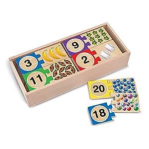 Melissa & Doug Self-Correcting Number Puzzles by Melissa Doug